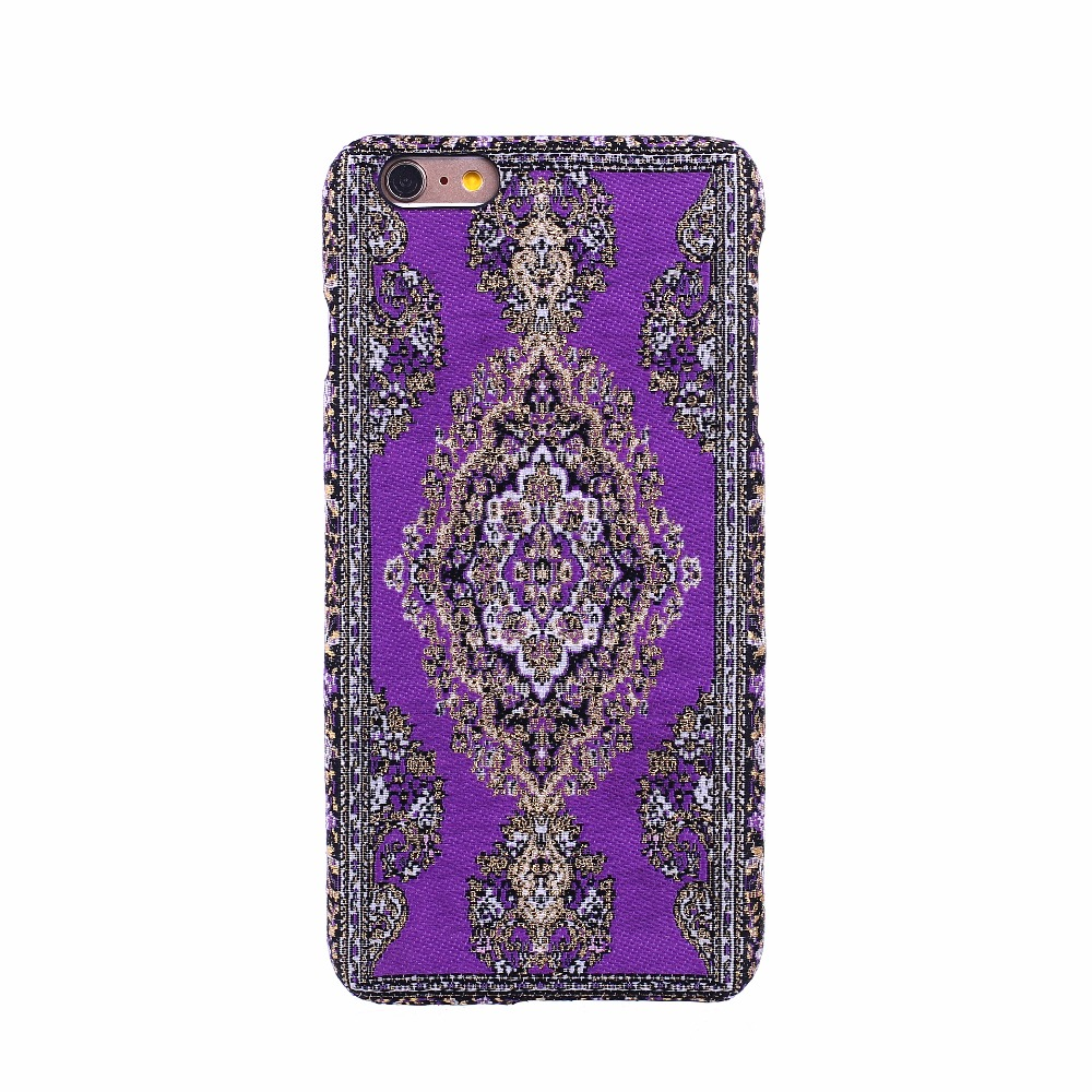 Luxury woven mobile phone case