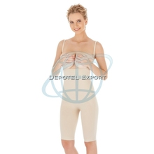 Seamless Full Body Underbust Corset Long Leg Body Shaper and Slimmer - Wear Your Own Bra