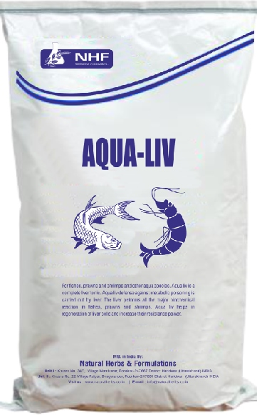AQUA LIV (Liver Stimulator for fishes )