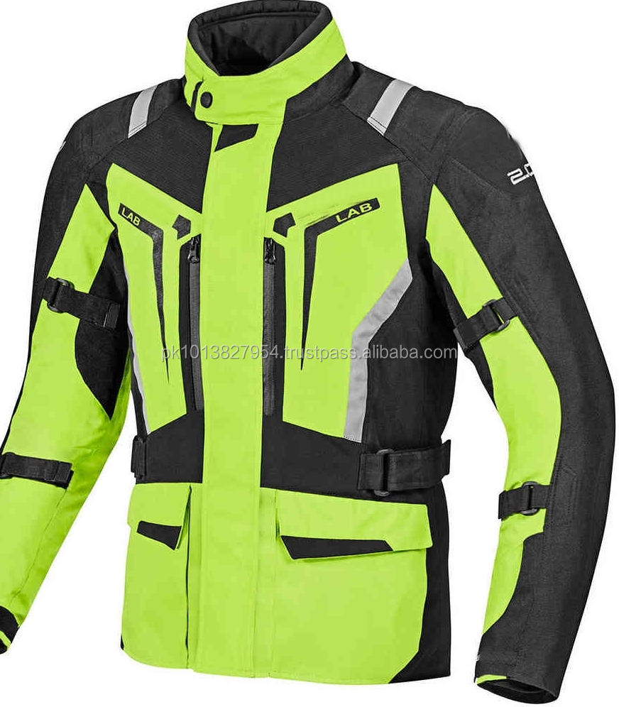Motorcycle Long Touring Jackets 100% Windproof Waterproof Company Logo Acceptable