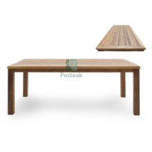 Reclaimed Solid Teak Wood Furniture dingklik dining table