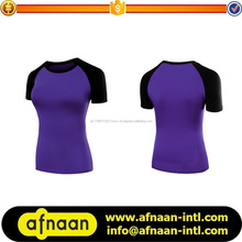 Women Short Sleeve Fitness Gym Yoga Running wear/Passion Active T Shirt