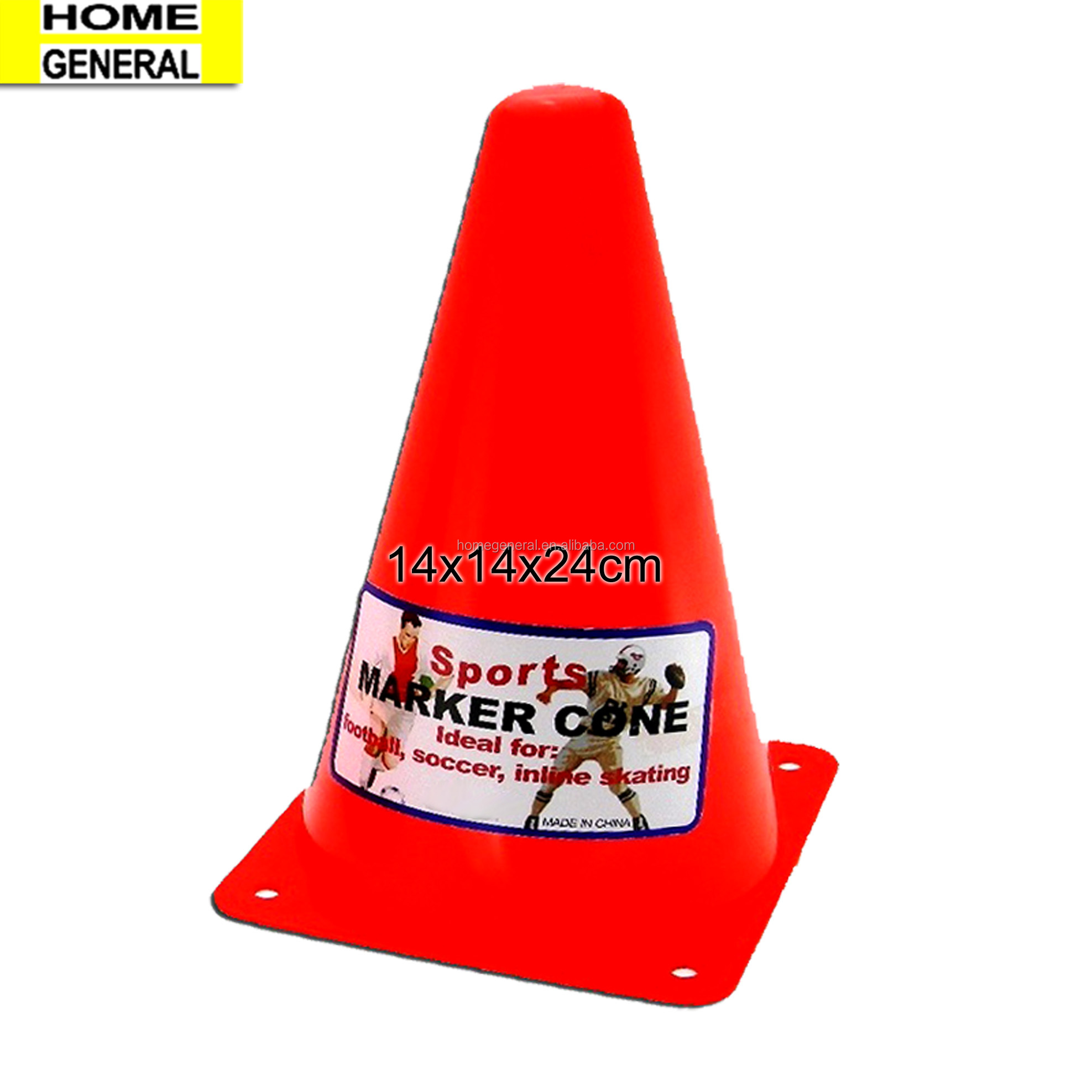 HOME GENERAL PLASTIC MARKER CONES SPORTS CONE FLEXIBLE CONES FOR SPORTS TRAINING CONES OBSTACLE CONES