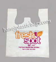 HDPE T-shirt plastic bag High Quality attractive price