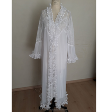 Arap style transparent, vintage polyester piled Nightgown suit, sexy lace detail lingerie long night