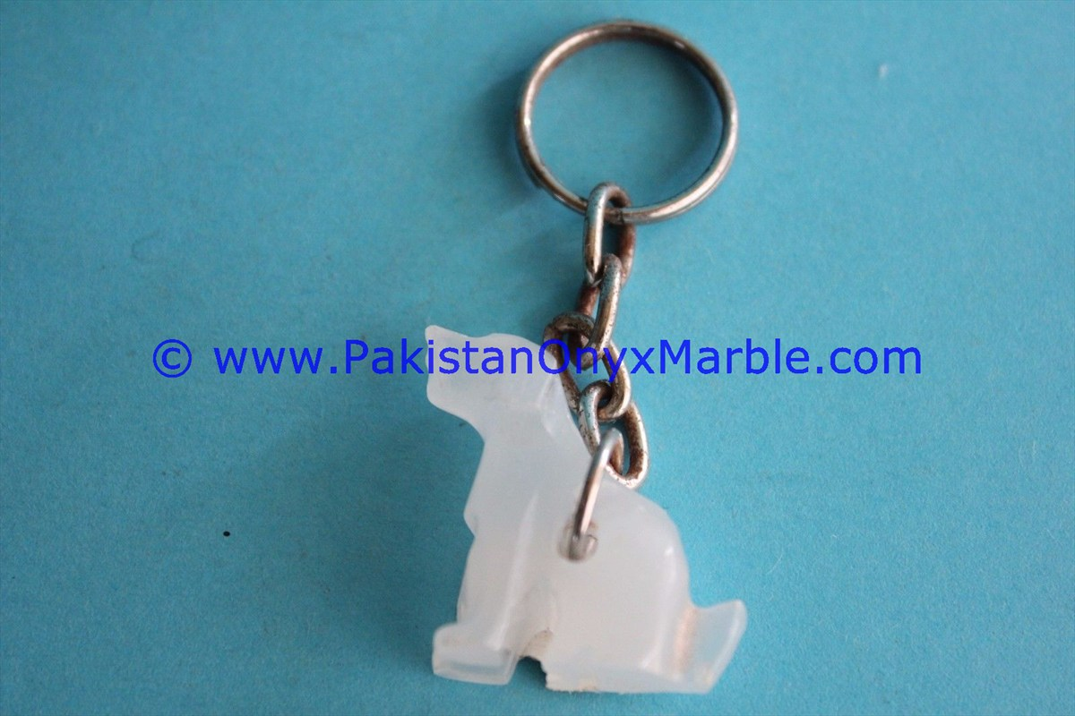 EXPORT QUALITY ONYX KEY CHAINS HANDICRAFTS