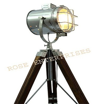 Nautical Decor Tripod Floor Light Standing Studio Lamp Light Stand