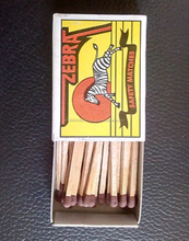 Colourful Matchbox Safety Matches