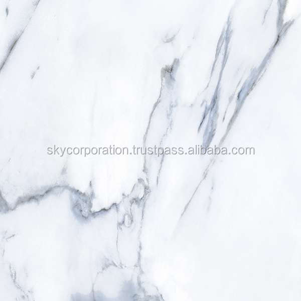 400x400mm Digital Ceramic Floor Tile - Marble Design.