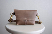 Genuine Leather Hip Bag, Leather Pouch Purse, Leather Waist Bag, Waist Pouch, Leather Cross Body Bag, Leather Messenger Bag