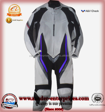2 pieces motocross moto racing suits with body protective armours