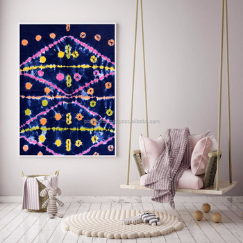 Indian Latest Abstract Design Tapestry Throw Cotton Wall Decor Yoga Mat Meditation Wall Hanging 45X30 Inch
