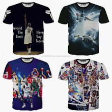 100% Microfiber Polyester Sublimation T Shirt/ Short Sleeve Summer Printing T Shirt/ Sleeve Less Sublimation T Shirts