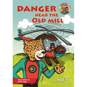 New Arrival Latest Danger Near the Old Mill Children Story Book