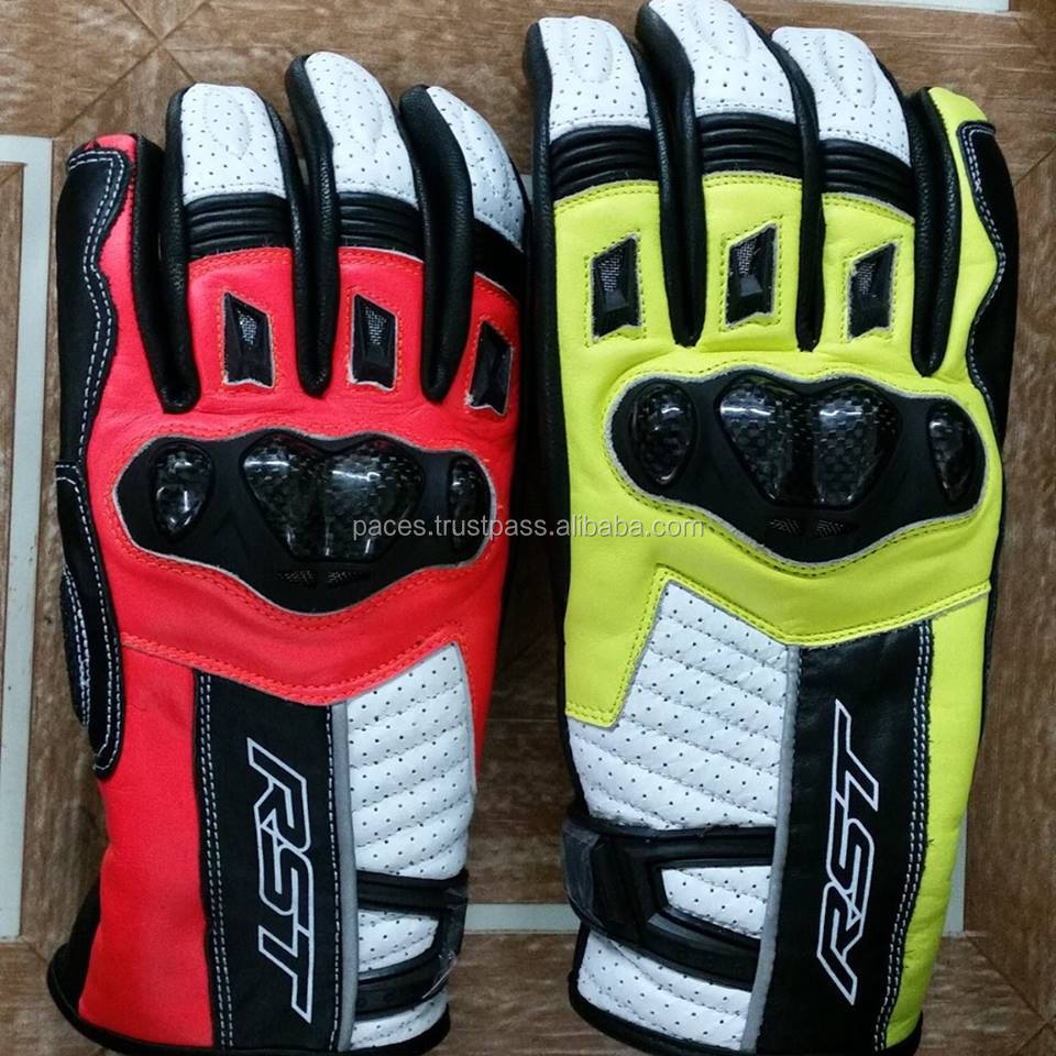 Wholesale price motorbike glove motorcycle leather glove Advanced Cycling Gloves