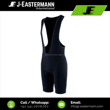 Mens Black Custom Order Cycling Bib Shorts With Custom Logo Printing, Embroidery, Sublimation