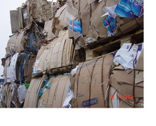 OCC Waste Paper in Bales FOR SALE (100% Cardboard)