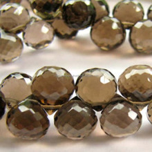Wholesale 8mm natural stone beads Smoky Quartz For jewelry making