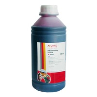 VMS Professional Refill Ink 1 liter(ltr) CIFSR color Magenta Refill Ink Compatible for - L100, L110, L130, L200, L210