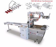 Overwrapping Biscuit, Rice Cake, Soap, Wafer Packaging Machine