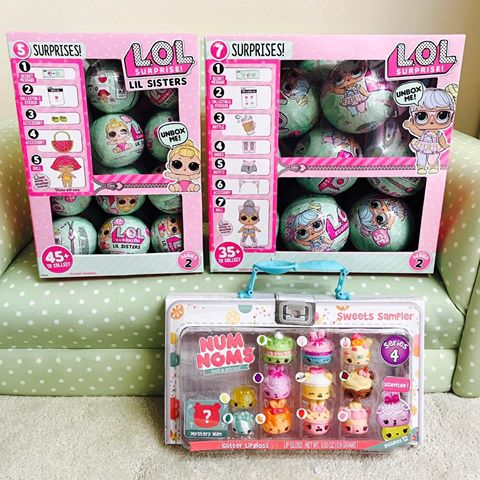 New LOL SURPRISE DOLLS Series 2 Lil Sisters Ball MGA ~ FREE FAST SHIPPING Buy 10 Get 6 free