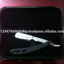 High quality manufacture single blade disposable barber straight razor with print the logo