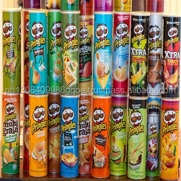 canned food Pringles Potato Chips