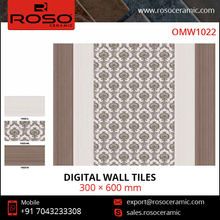 300*600mm Glossy Kitchen Design Matched Ceramic Digital Wall Tiles