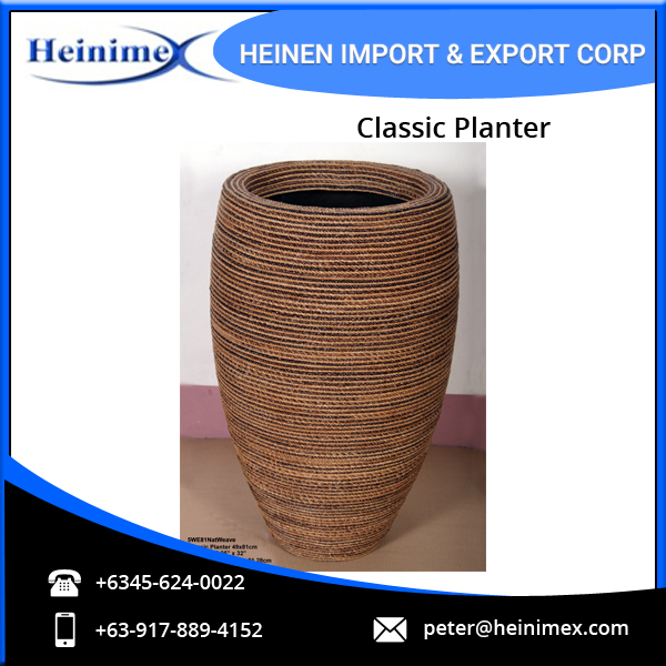 Natural Classic Planter for Bulk Buyers