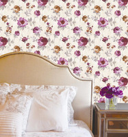 2018 New Design ECO friendly wallpaper with Large paper flower backdrop for wallpaper home decoration