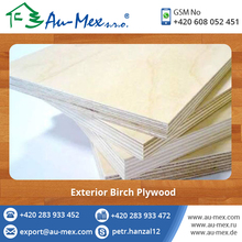 Hard Surface Exterior Birch Plywood at Affordable Price