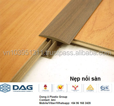 Laminated PVC jointer floor accessories