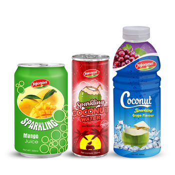 Flavored sparkling water JOJONAVI brand OEM private label