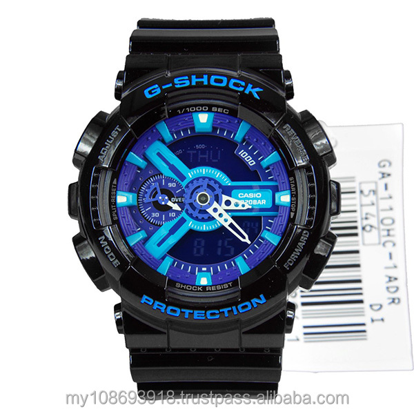 GA-110HC-1A Limited Edition Blue & Purple Mens Watch