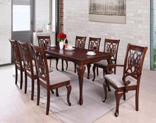 Classical range Queen Ann leg dining sets