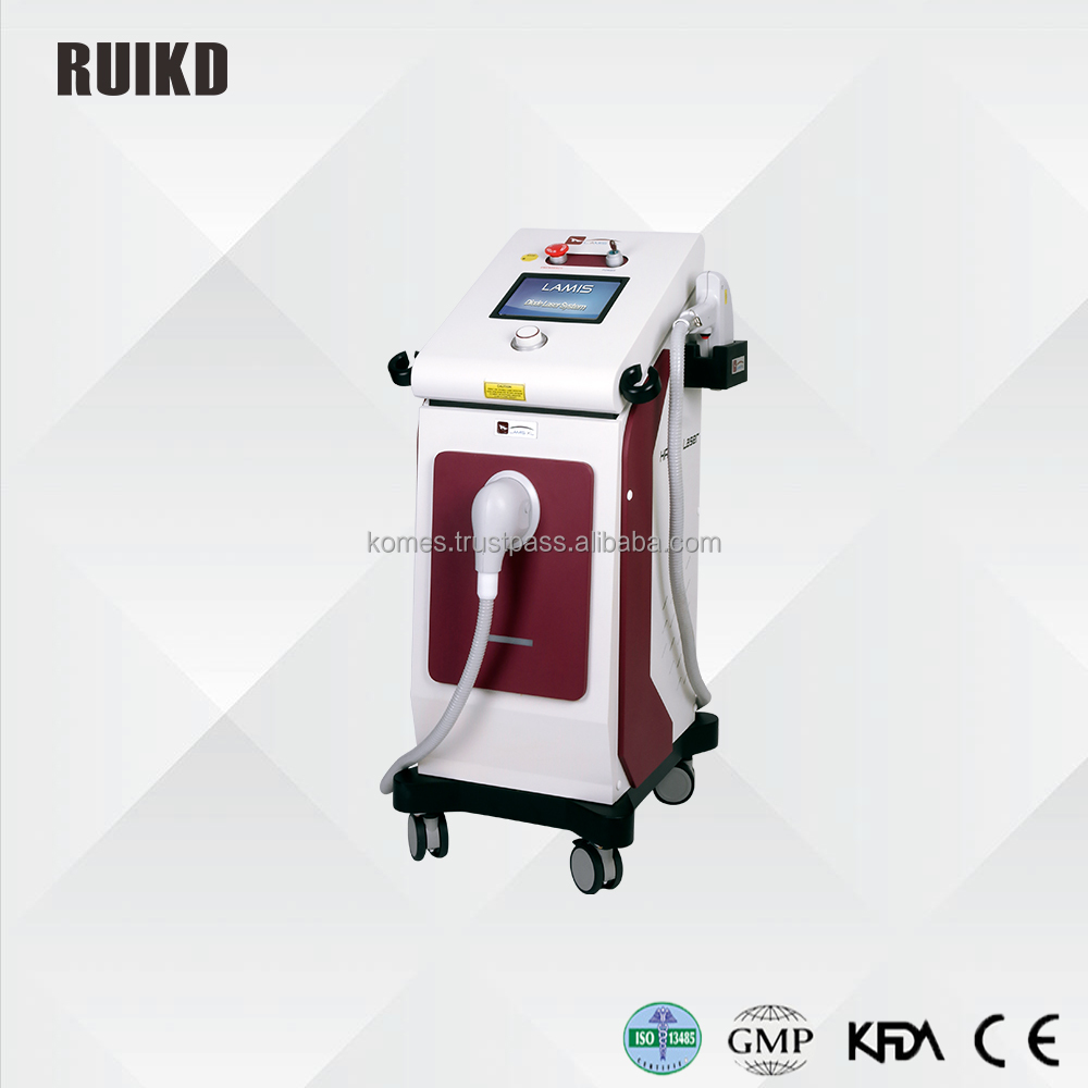 RUIKD 808nm diode laser hair removal and skin rejuvenation machine LAMIS XL