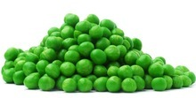 GREEN PEAS FROZEN WITH BRC, KOSHER, ISO22000 GRADE A