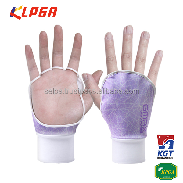 Korean Women's Golf Gloves UV Protection Sun Screen Golf Gloves