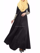 ELEGENT WOMEN CELEB LONG SLEEVE PARTY COCKTAIL MAXI LONG ABAYA DRESS KAFTAN