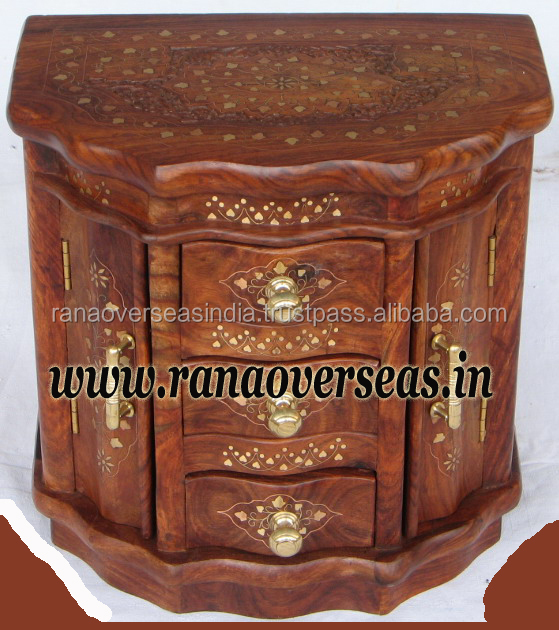 Wooden Small Bar Counter drawer Chest