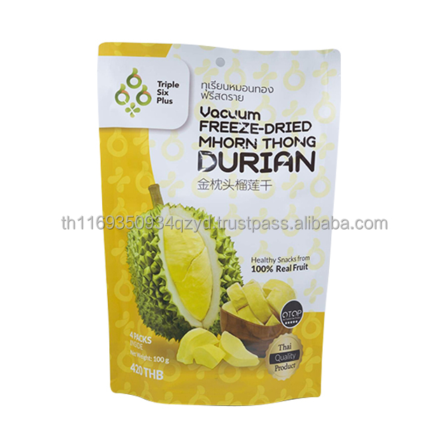 Vacuum Freeze Dried Mhon Thong Durian