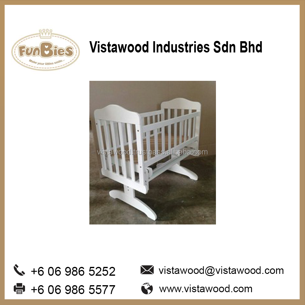 baby wooden swing cradle crib, swing cradle