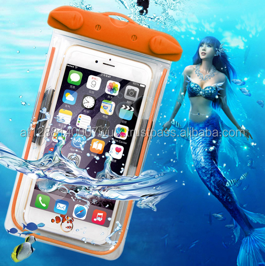 Bags WaterProof Case For iphone 5 5S SE 6 6S PLUS 7 7PLUS For Samsung Water Proof Pouch