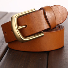 Mens Brown Color Leather Belts