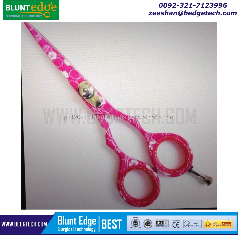 Pink Hairdressing Scissors