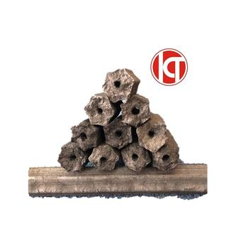 Hardwood  charcoal briquette made by sawdust charcoal making production from Vietnam