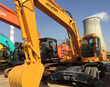 Used Hyundai Wheel Excavator,hyundai 200W-5 Good Performance