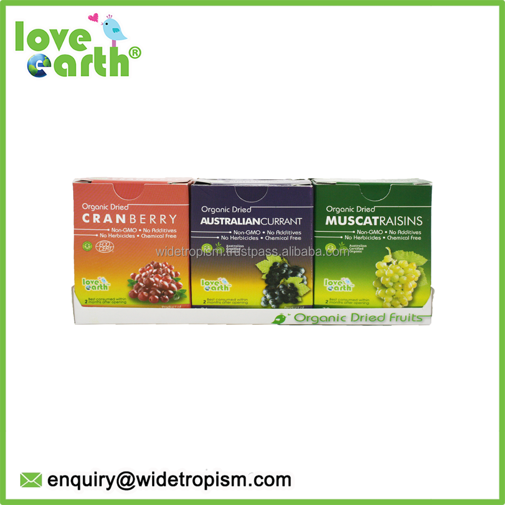 Love Earth Organic Mixed Dried Fruit 6 in 1