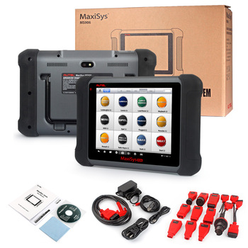Autel MaxiDiag Elite MD802 For 4 System Auto OBD2 Reset Code Scanner Automotive Diagnostics Car Scan