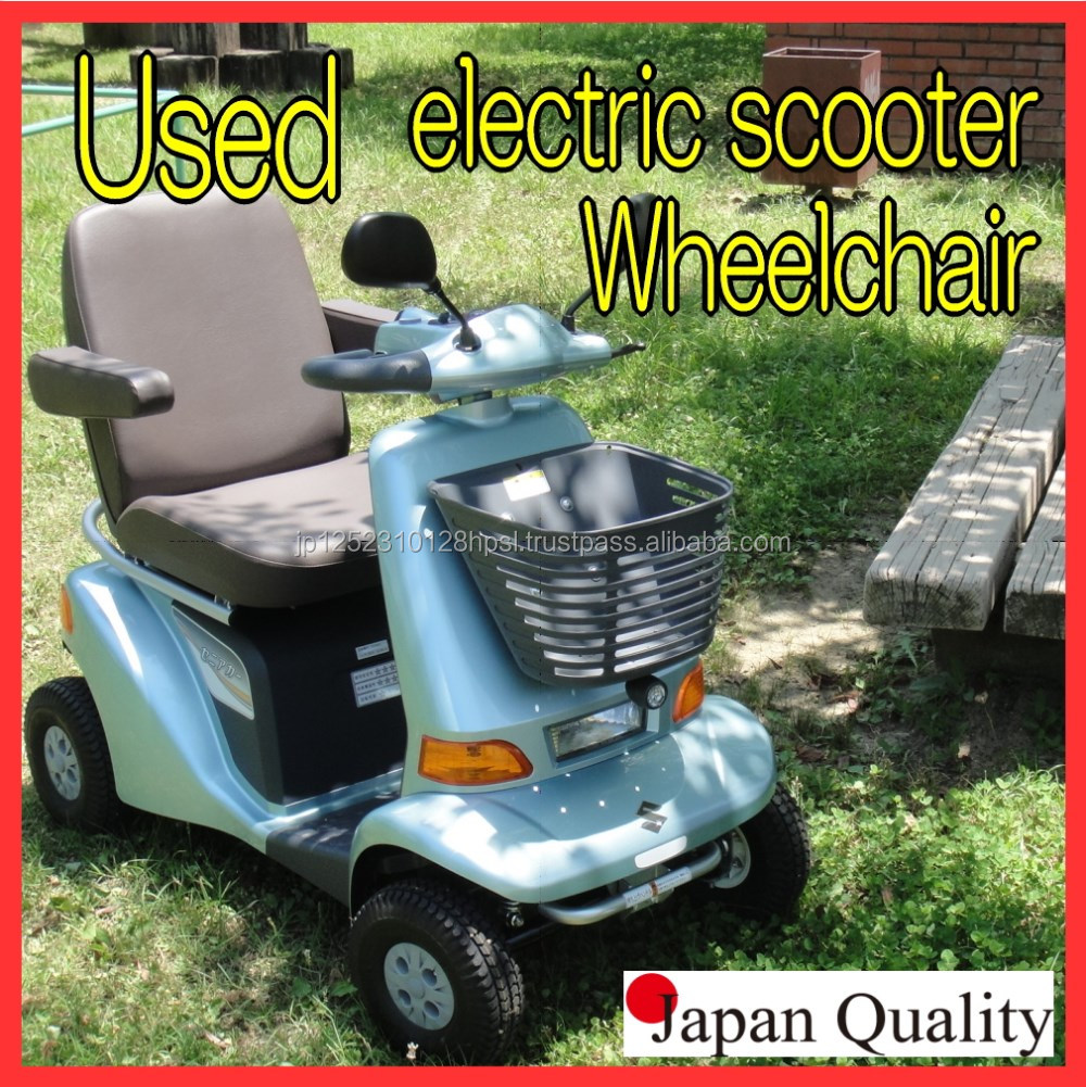 Excellent quality used elderly electric scooter made in Japan